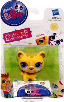 Littlest Pet Shop Single Figure Yellow Bear