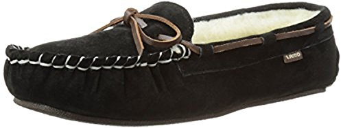 Toe Bundle Women's Moc amp; Moccasin II Warmer Britain Black Lamo BqCwOYg