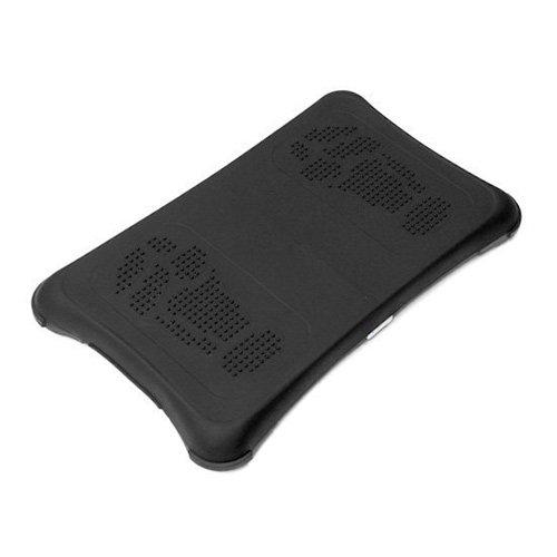 Skque Black Silicone Skin Case for Nintendo Wii Fit