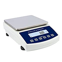 Schuler Scientific SSH-6001.N NTEP SH-Series Precision Balance with 6000g Capacity and 0.1g Readability, Plastics and Metals