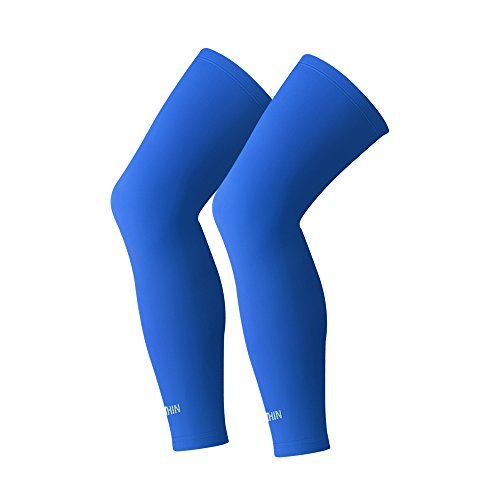 SONTHIN Compression Leg Sleeves,Leg Knee Long Sleeves for Men Women Youth,1 Pair