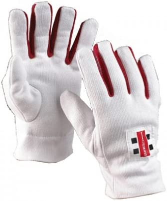Gray-Nicolls Offizielle Baumwolle, Uni Cricket-Keeper Innen Handschuhe Größen Jungen – Herren
