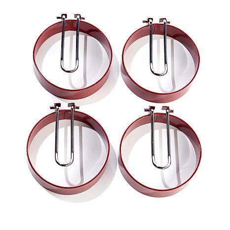 Curtis Stone Set of 4 Nonstick Egg Rings Model 591187