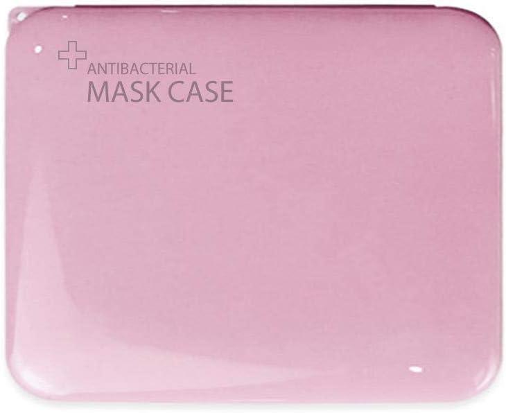 Rubyu Bo/îte en Plastique Plate Portable Conteneur De Masques Jetables Portatifs Contenant,Bo/îte De Nettoyage /Étanche /À La Poussi/ère Et /À Lhumidit/é 4.13x5.12x0.47in Bo/îte De Rangement