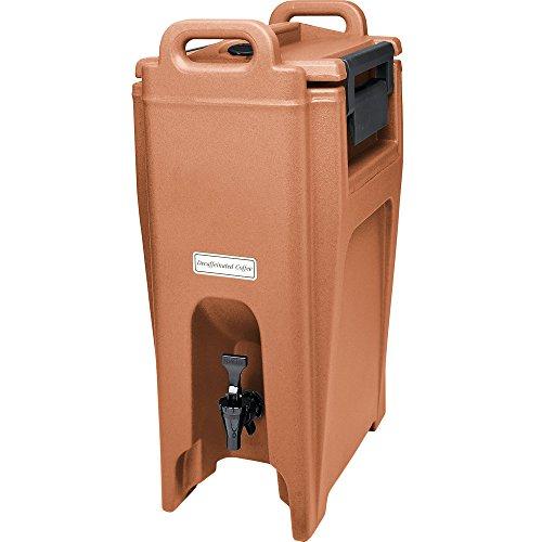Cambro UC500157 Coffee Beige Ultra Camtainer 5.25 Gallon Insulated Beverage Dispenser