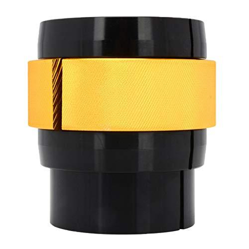B Blesiya Ringer Fork Seal Driver 40/41mm 42/43mm 45/46mm 47/48mm 49/50mm Perfect Front Fort Rebuild Tool for Kawasaki Motocross Dirt Bike - Yellow(49-50mm)