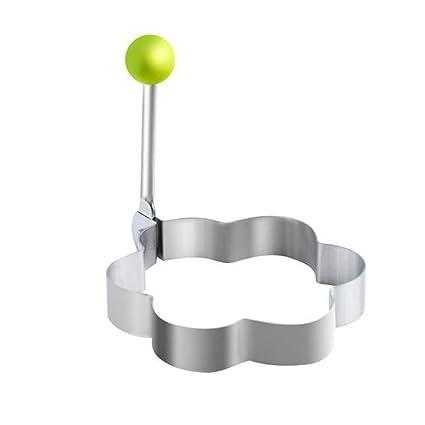 BESTONZON Molde para panqueques de huevos de acero ...