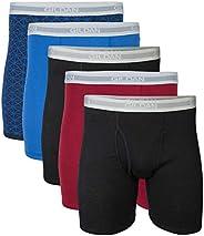 GILDAN Mens Standard Regular Leg Boxer Brief Multipack