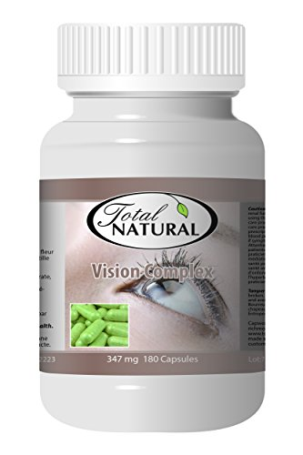Vision Complex 347mg 180c - [5 bottles] Vision Care by Total Natural