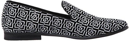Steve Madden Mens Calculus Slip-On Loafer Black