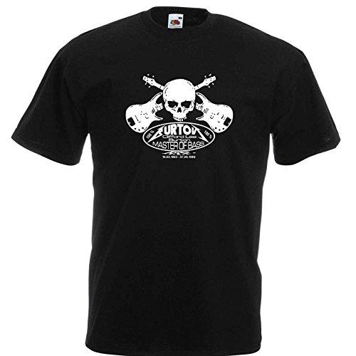 Cliff Burton 2 Memorial T-Shirt
