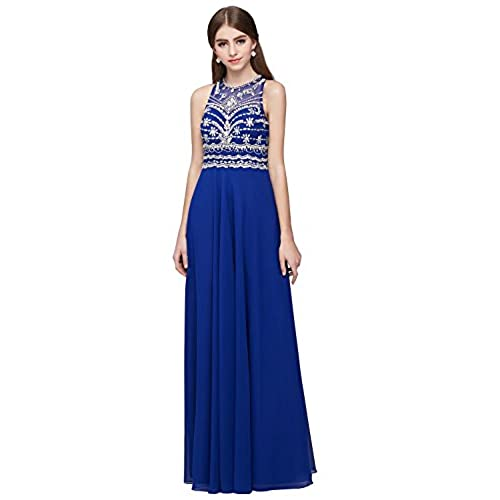 Vickyben Prom Dress Royal Blue Floor Length 2016 (6, Royal Blue)