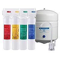 Watts Premier WP531411, Sistema de filtración de agua de ósmosis inversa de 4 etapas RO-Pure