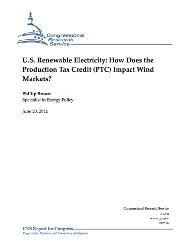 U.S. Renewable Electricity: How Does the Production Tax Credit (PTC) Impact Wind Markets?