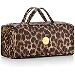 Joy Mangano Better Beauty Case, Large, Leopard