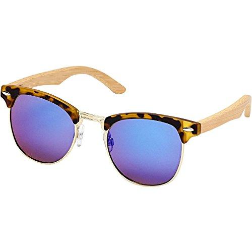 Blue Planet Eyewear Jasper Jr. Polarized Sunglasses - Kids' Matte Amber Tortoise / Gold, One Size