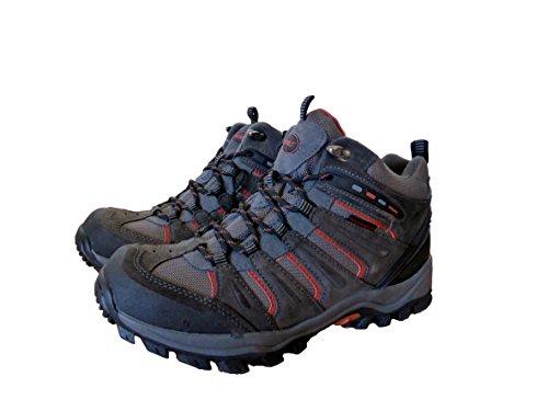 Khombu Mens Hiker Terrain Boots Grey 12M