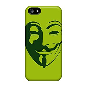 New XuOdsPI6432ZdytM Anonymous Mask pc Cover Case For Iphone 5/5s