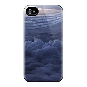 New Snap-on Luoxunmobile333 Skin Cases Covers Compatible With Iphone 6- Jets Formation With Smoke Trails In The Clouds