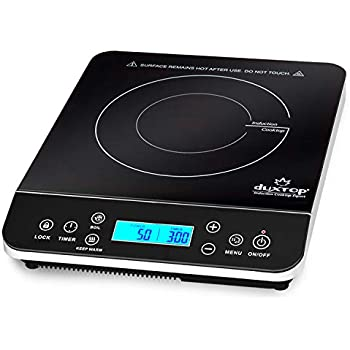 Amazon.com: Duxtop 1800W Portable Induction Cooktop ...