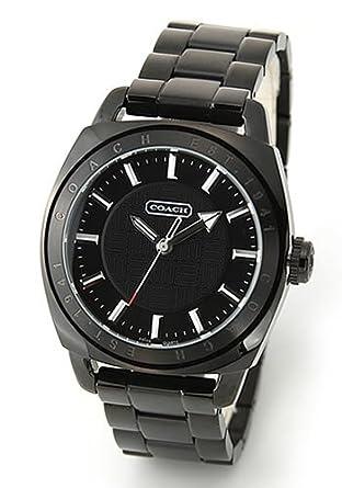 71d624c6c8e8 [コーチ] COACH 腕時計 Varick (ヴァリック) オールブラック ブレスウオッチ 14600978メンズ[