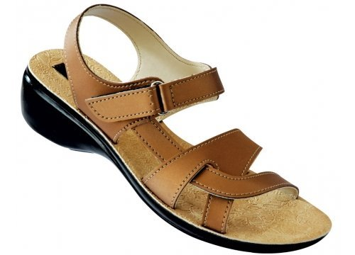 5742641942dc Paragon Women s Brown Sandals (7701) (4 UK)  Buy Online at Low ...