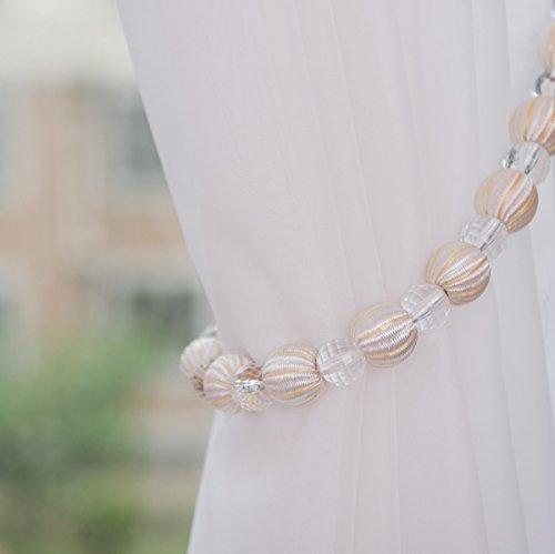 Beaded Curtain Tie Backs - 6