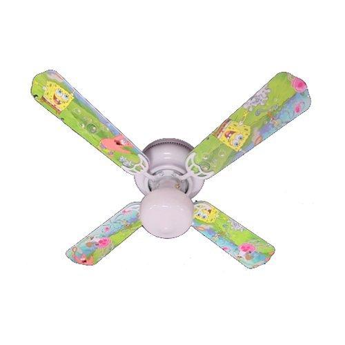 s Ceiling Fan, Sponge Bob Square Pants, 42