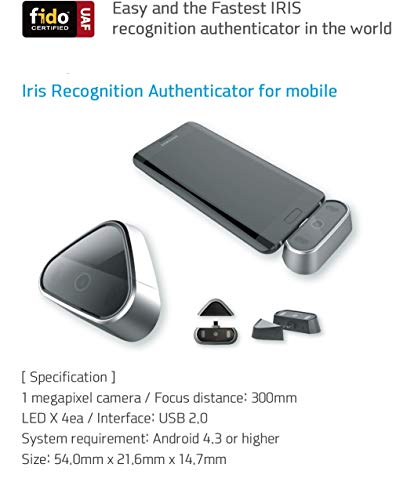 Octatc EzIris OID-P1A [Black] World First Mobile iris Scanner Simple, Comfortable, Secure ! FIDO Standard Applicable Android Support by Octatco (Image #4)