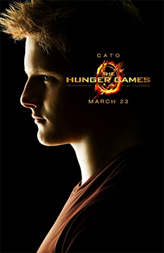 The Hunger Games Original Teaser Movie Poster Alexander Ludwig as (Alexander Movie Poster)