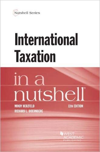 International Taxation in a Nutshell (Nutshells) by West Academic Publishing