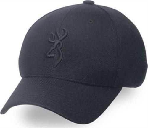 Browning Coronado Pique Buckmark Cap, Black, Large/X-Large (Browning Online Store)