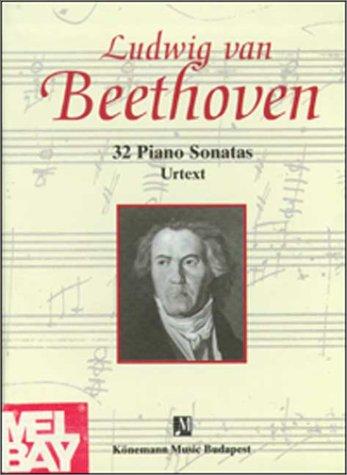 32 Piano Sonatas, 2 Bde. (Partitions Cps) (Englisch) Gebundenes Buch – 1999 Ludwig van Beethoven Ullmann Publishing 9639155535 VIN9639155535