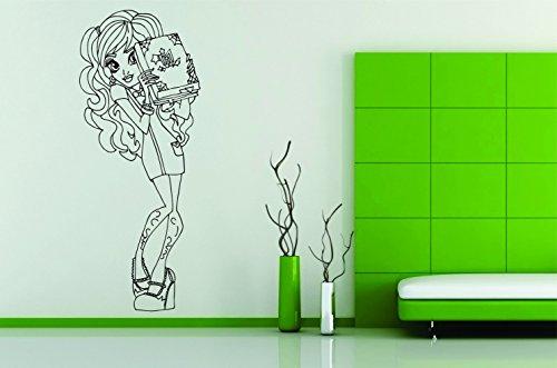 Wall Car Vinyl Decal Sticker Mural Monster High Twyla Scaremester Comic Cartoon Art]()