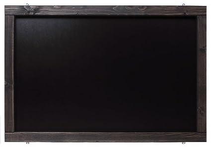 Kolonial, 50x100cm Rustikale Tafel Kreidetafel Wandtafel K/üchentafel mit Holzrahmen zur Beschriftung mit Kreide im Landhausstil in verschiedenen Gr/ö/ßen und Farben