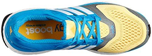 adidas Performance ENERGY BOOST 2 ESM Chaussures de Course Running Homme Bleu Jaune Techfit adidas Performance