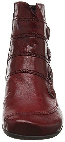 Gabor Shoes Sport, Botines para Mujer Rojo (dark-red 55)