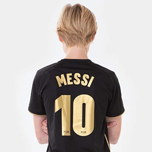 Unbekannt Morefootballs – Conjunto de camiseta oficial del Lionel Messi FC Barcelona para niños – 2020/2021-116 – FCB…