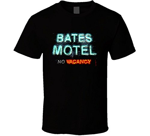 Bates Motel T Shirt M Black