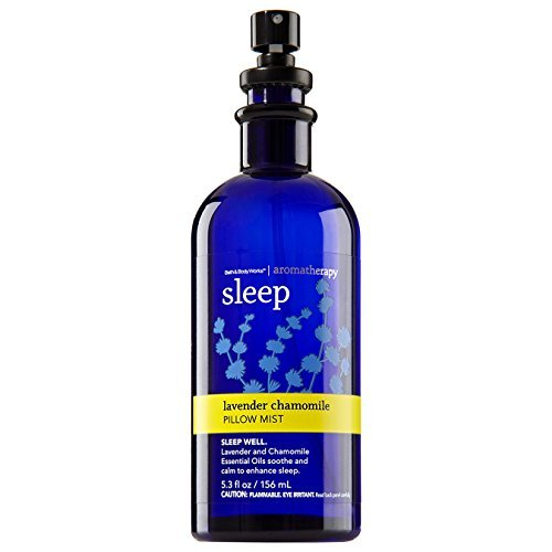 Bath and Body Works Aromatherapy Pillow Mist Lavender Chamomile Retired ()