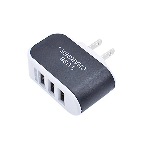 ❤️Gmgod❤️3.1A Triple USB Port Wall Home Travel AC Ch