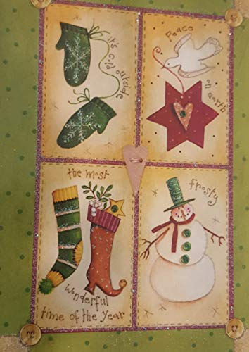 Holiday Boxed Christmas Cards Set of 14 - Variety to Choose From (Christmas - Holiday Boxed Joy Card