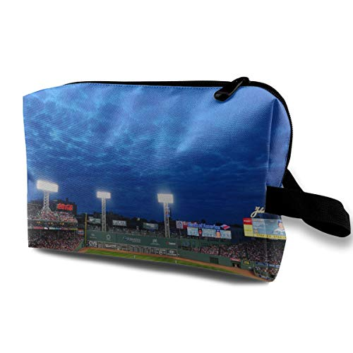 LEIJGS Fenway Park Baseball Park Small Travel Toiletry Bag Super Light Toiletry Organizer for Overnight Trip Bag