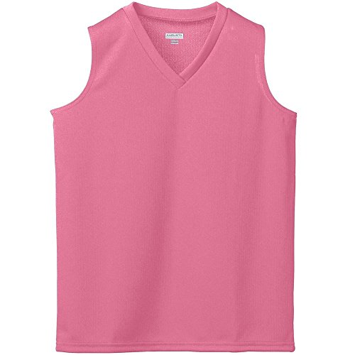 Augusta Sportswear Girls' WICKING MESH SLEEVELESS JERSEY L ()