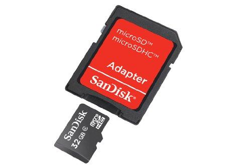 Price comparison product image SDSDQB-032G-B35 - Flash-Speicherkarte ( microSDHC/SD-Adapter inbegriffen )