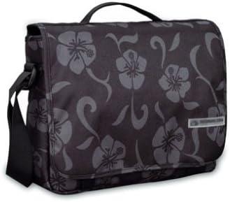 dise/ño de Flores Negras 24 x 30 x 8 cm Tatonka Bolso Bandolera Urban Bag 6 litros