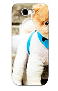 lintao diy Crazinesswith Top Quality Rugged Pomeranian Puppy Case Cover Deisgn For Galaxy Note 2 For Lovers