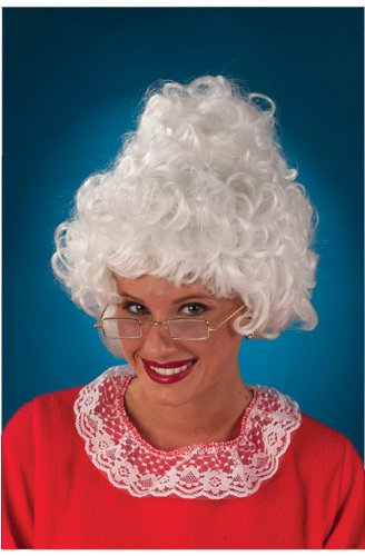 Fun World Womens Mrs. Claus Wig