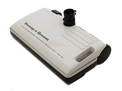 Central Vacuum Sweep N' Groom Electric Power Head W/ Metal (Electrolux Roller Brush)