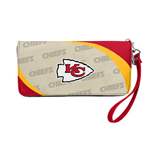 NFL Kansas City Chiefs Curve Zip Organizer Wallet ()